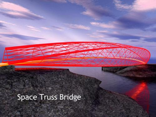space truss bridge 1